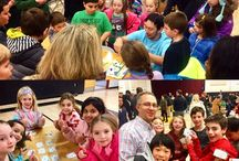 Family Math Nights / We will come to your school and teach kids all about our awesome educational games!