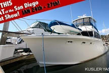 San Diego Boat Show / by Kusler Yachts