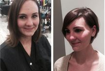 Dramatic Hair Makeover Ideas / PR at Partners Salons is home to the Freshlook Makeover. See some of our dramatic hair makeovers here and get inspiration for your next appointment!