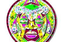 Paper Mask Design / Paper cutting mask designs