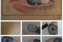 How to colored pencil