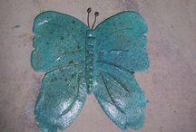 mariposas / mariposas azules