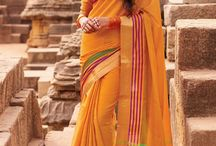 Printed Casual Sarees Online By SareesBazaar / Shop casual wear printed sarees online in UK from SareesBazaar. -> http://www.sareesbazaar.co.uk/Catalogue/Sarees/Printed-Casual-Sarees