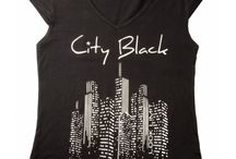 Camisetas #CityBlack