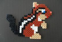 hama beads animali