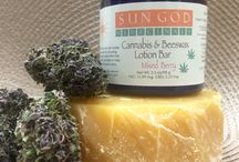Sun God Medicinals / Our unique product line designed for medical marijuana patients and others as well. We offer medicated products as well as non-medicated. Using Sun grown, locally wild crafted in Oregon medicinal herbs. We like to keep it all about the medicine.