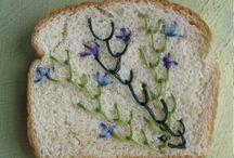 embroidery knitting macrame // borduren breien macrame / by stylink