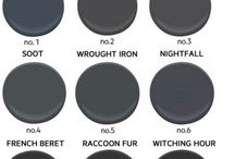 black paint colours