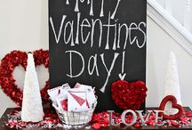 Valenties Day / A day of Romance, Sweets, Flowers, Ballons and Kisses