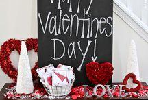 Valentýn- dekorace