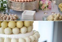 cake pops wedding cake