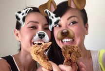 Snackchat Videos / A foodie spin on snapchat!
