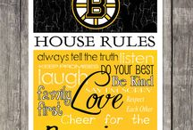 All About That Bruin Love / Boston Bruins Hockey / by Brag About It Jewelry