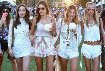 Music Festival Fashion / Check out what the stars wore to all the summer music festivals this year.