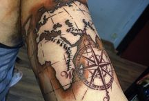 Map tattoo