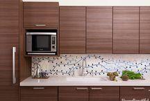 Backsplash Ideas / Tie your kitchen together with an elegant or functional backsplash.