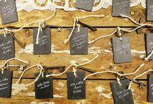 // escort cards, seating charts + placecards // / by mStarr design / e m i l y