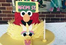 my daughters Sesame Street themed birthday!