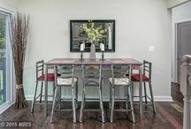 Transitional Dining Room Design