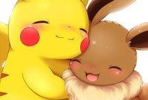 pikachu and pokemon