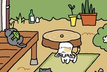 ねこあつめ nekoatsume / iPhone app you must play!