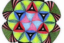 Zentangle, Zendala, Mandala