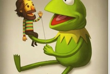 Jim Henson And Muppets / by Toby -Wan Kenobi