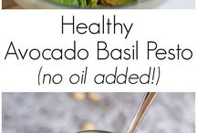 Healthy Condiments / Healthy dressings, pesto, sauces, dips