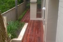 Ironbark Decking Project Kensington / Ironbark decking,