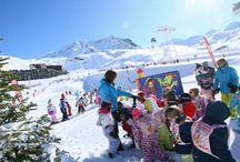 ESF MiniClub / First time on snow. Kids learn and enjoy the easy way.