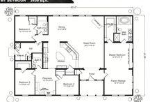 Home - Floor Plans / by Nikki Groves