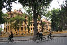 Ville Hanoi / La ville Hanoi, la capitale du Vietnam, Hanoi.