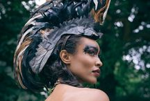Mohawks / Stunning hand & custom made feather mohawks - Perfect to stand out at a festival or event