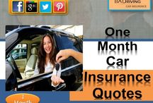 One Month Car Insurance Quotes / Baddrivingcarinsurance.com offers month to month car insurance quotes for new drivers with online policy, coverage! Go for it to get car insurance for one month only with lowest prices in USA!
