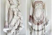 Mandala crochet jacket