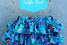 Sewing baby clothes