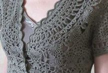 Crochet vests