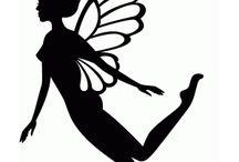 Fairy Silhoutte