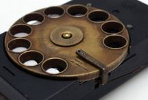 Steampunk rotary smartphone