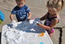 Messy Play / Messy Play ideas for kids because making a mess is the best!