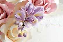 Sugar paste craft and ideas