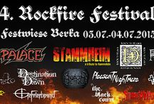 Festivals Events / Musikveranstaltungen, Events die mehrere Tage andauern mit unterschiedlichen Bands und Künstlern