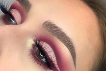 pink eyeshadow look