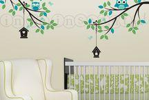 dekorace v dětském pokoji