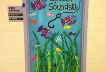 decorar puertas de colegio