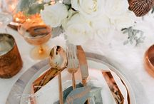 MWF | Marble and Metallics / A firm My Wedding Fair favourite. This style option offers the perfect texture combination.