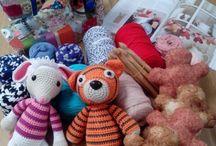 Nuestras clases, patchwork,costura creativa,encaje de bolillos,crochet / Estos son los trabajos que hacemos en Pukymuky,la creatividad de nuestras alumnas!!