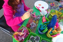 natural and recycled materials for kinder