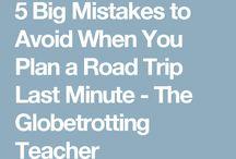 Roadtrip / Tips