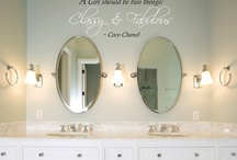 Bathroom Ideas / by Janis Mederich